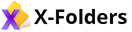x-folders logo